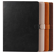 For Case Cover Card Holder with Stand Full Body Case Owl Genuine Leather for iPad Pro 12.9''