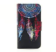 Недорогие -красочный сон пу кожаный бумажник случае полное тело для Ipod Touch 5/6