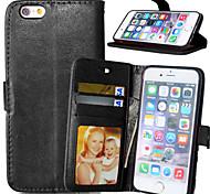 Luxury PU Leather Card Holder Wallet Stand Flip Cover With Photo Frame Case For iPhone 7 7 Plus 6s 6 Plus