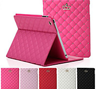 cheap -Case For iPad 4/3/2 with Stand Auto Sleep / Wake Full Body Cases Geometric Pattern PU Leather for iPad 4/3/2