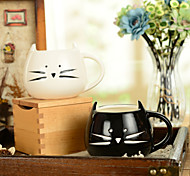 "cheap -300ml Black And White Cute Cat Animal Cup Creative Water Mug(5.1""x4.3""x3.7"")"