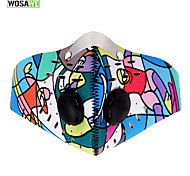 Bike/Cycling Pollution Protection Mask Unisex Camping / Hiking Cycling / Bike Thermal / Warm Windproof Dust Proof Lightweight Materials