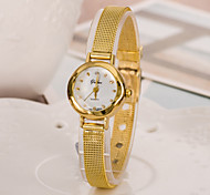 cheap -Women's Fashion Watch Japanese Casual Watch Alloy Band Elegant Gold