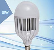 preiswerte -LERHOME 36W 3600 lm E26/E27 LED Kugelbirnen G125 72 Leds SMD 5730 Dekorativ Kühles Weiß 220V-240V