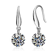 cheap -Lureme®  Korean Fashion 925  Sterling Silver Aaa Zircon  EarringsImitation Diamond Birthstone