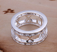 cheap -Women's Statement Rings Fashion Silver Plated Jewelry Party Daily Casual