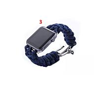 Недорогие -Ремешок для часов для Apple Watch Series 3 / 2 / 1 Apple Повязка на запястье Современная застежка Материал