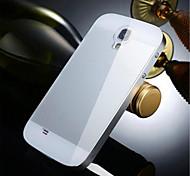 два в одном кх бренд металлическая рама акриловое зеркало объединительной платы металл жесткий чехол для Samsung Galaxy S4