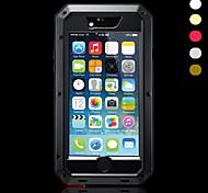 металлический водонепроницаемый пыленепроницаемый ударопрочный чехол для Iphone 6с 6 плюс