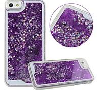 KARZEA™Unique Design Fluid Liquid Flowing Bling Shiny Sparkle Stars Back Cover Case for iPhone 5/5S