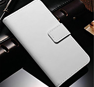 Genuine Leather Wallet Case for Samsung Galaxy Note 4 N9100 Galaxy Note Series Cases / Covers