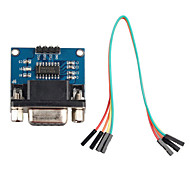 cheap -RS232 Serial Port to TTL Converter Communication Module w/ Dupont Cable for Arduino