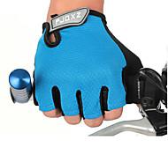 cheap -FJQXZ Sports Gloves Bike Gloves / Cycling Gloves Wearproof Shockproof Lightweight Fingerless Gloves Mesh Cycling / Bike Men's Women's