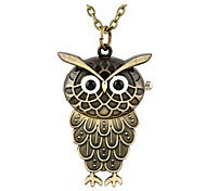 creative The owl necklace watch wholesale cheap pocket watch Cool Watch Unique Watch Fashion Watch