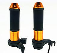 """Недорогие -iztoss 12v мотоцикл мотоцикл ATV 7/8 """"22mm электрический рука отопления с подогревом ручек руля регулируется с выключателем"""