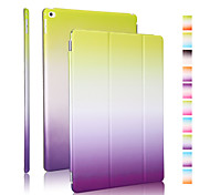 cheap -Case For iPad 4/3/2 Origami Full Body Cases Color Gradient PU Leather for iPad 4/3/2