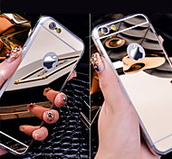 Acrylic Crystal Mirror Soft Back Case for iPhone 6s 6 Plus SE 5s 5 4s 4