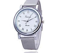 Xu™ Женские Модные часы Кварцевый Металл Группа Серебристый металл