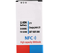 3.7V 3800mAh Li-ion Battery with NFC for Samsung S5 i9600 Power Banks