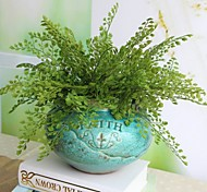 cheap -2 Bouquet Reality Fern Leaf Artificial Plant Flower Decoration