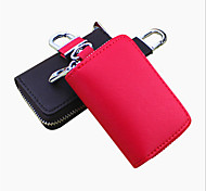 cheap -Both Men And Women Can Stick Cross Embossed Leather Car Key Bag / Car Remote Package