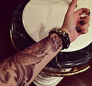 большая рука рыба тотем поддельные передачи Временные татуировки тела сексуальные наклейки