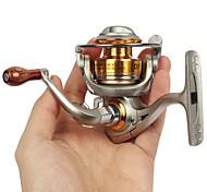 Carretes para pesca spinning / Carrete para pesca en hielo 5.2:1 5 Rodamientos de bolas IntercambiablePesca de Mar / Pesca en hielo /