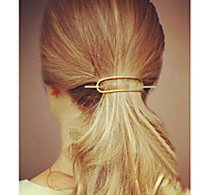 cheap -Women's Simple Casual Alloy Hair Clip