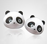 ZIQIAO 1 Pair Lovely Panda Flavor Car Air Freshener Diffuser Outlet Magic Supplies Perfume