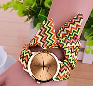 cheap -Women's Bracelet Watch Fashion Watch Quartz Casual Watch Fabric Band Charm Multi-Colored