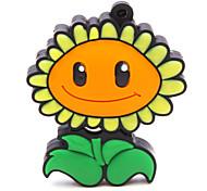 zpk47 fleur de tournesol 16gb usb 2.0 lecteur de mémoire flash u bâton
