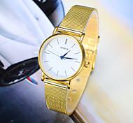 Women's Fashion Watch The New Gold Silver Belt Quartz Watch Cool Watches Unique Watches Strap Watch