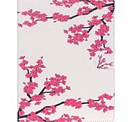 Недорогие -Кейс для Назначение Apple iPad Air 2 iPad mini 4 Кошелек Бумажник для карт со стендом Чехол Цветы Твердый Искусственная кожа для iPad Pro