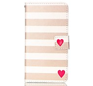 Для Samsung Galaxy S7 Edge Кошелек / Бумажник для карт / со стендом / Флип Кейс для Чехол Кейс для Полосы / волосы Искусственная кожа