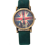 Women's Watches Fashion Retro Nostalgia Cross PU Strap Big Dial Watches Cool Watches Unique Watches