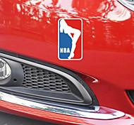 смешно спорт баскетбол красота машина стикер окна автомобиля этикета стены автомобиля стиль (1шт)