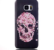 For Samsung Galaxy S7 Edge Pattern Case Back Cover Case Skull PC Samsung S7 edge plus / S7 edge / S7