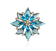 cheap -Women's Brooches - Rhinestone, Imitation Diamond Luxury, Double-layer, Fashion Brooch For Party / Daily / Casual