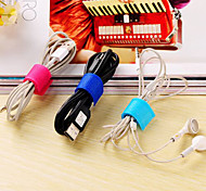 cheap -Earphone Holder / Cable Winder Portable for Travel Storage