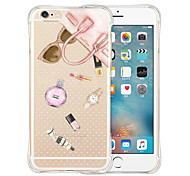 фаворитами королевы мягкий прозрачный силиконовый чехол для iphone 6 / 6с (разных цветов)