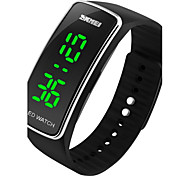 cheap -SKMEI® Unisex New Fashion LED Digital Watch Silicone Strap Sport Bracelet Cool Watch Unique Watch