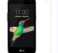 Недорогие -Защитная плёнка для экрана LG для PVC 1 ед. Защитная пленка для экрана Против отпечатков пальцев Защита от царапин HD