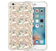 единорог парк мягкий прозрачный силиконовый чехол для iphone 6 / 6с (ассорти цветов)