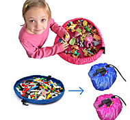 18 Inches Diameter Baby Kids Play Floor Mat Toy Storage Bag Organizer Quickly Easily Folds Up