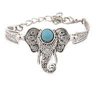 cheap -Men's Women's Turquoise Vintage Bracelet - Unique Design Birthstones Fashion Ethnic Others Circle Geometric Bracelet For Wedding Party