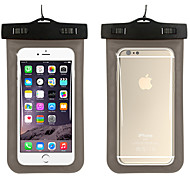 cheap -Case For iPhone 7 iPhone 6s Plus iPhone 6 Plus iPhone 6s iPhone 6 Universal Waterproof with Windows Pouch Bag Solid Color Soft PC for