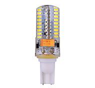 T10 Luces LED de Doble Pin T 72 leds SMD 3014 Decorativa Blanco Cálido Blanco Fresco 540lm 2800-3200/6000-6500K DC 12 AC 12 AC 24 DC 24V