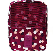 cheap -Travel Luggage Organizer / Packing Organizer Travel Shoe Bag Portable Travel Storage for Clothes Shoes Fabric / Floral Travel