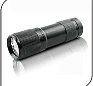 On-Off LED Flashlights / Torch Black Light Flashlights/Torch LED 100 lm 1 Mode - Ultraviolet Light Counterfeit Detector for Everyday Use