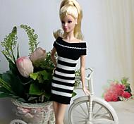 preiswerte -Kleider Für Barbie-Puppe Kleider Für Mädchen Puppe Spielzeug